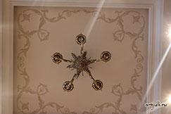 Роспись потолка  - работа декоратора Богдановой Юлии